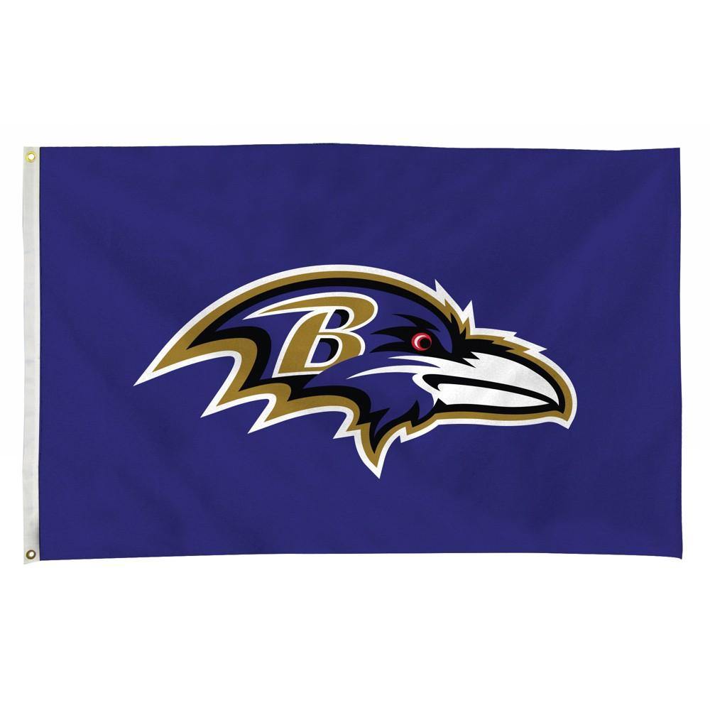 Nfl Baltimore Ravens 3 X5 Foot Banner Flag In 2020 Baltimore Ravens Logo Baltimore Ravens Raven Logo