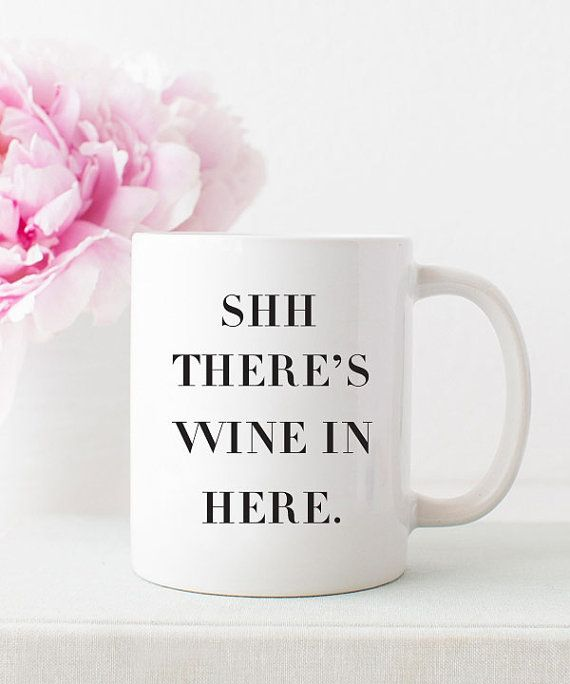 Wine Mug Gift For Mom Gift For Her Coffee Mug Ceramic Mug