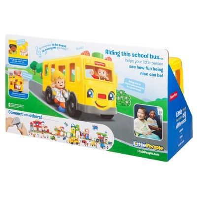 Fisher-Price Little People Sit With Me School Bus | Pinterest ...