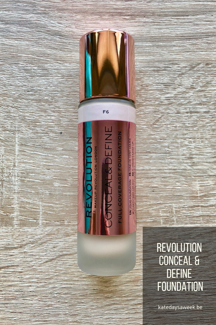 Makeup Revolution Conceal and Define Foundation Review