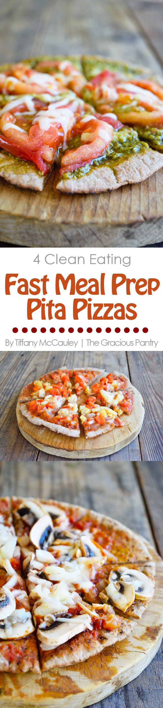 Meal Prep Pizza You Can Prep In Minutes The Gracious Pantry Clean Eating Vegetarian Recipes Clean Eating Pizza Recipes