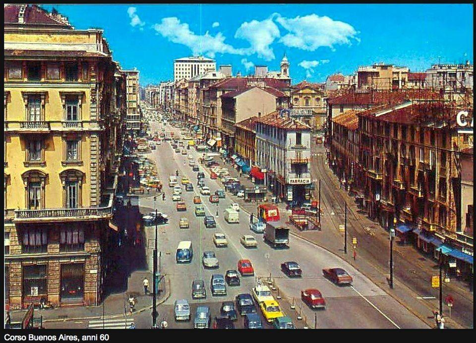 Milano, Corso Buenos Aires anni '60