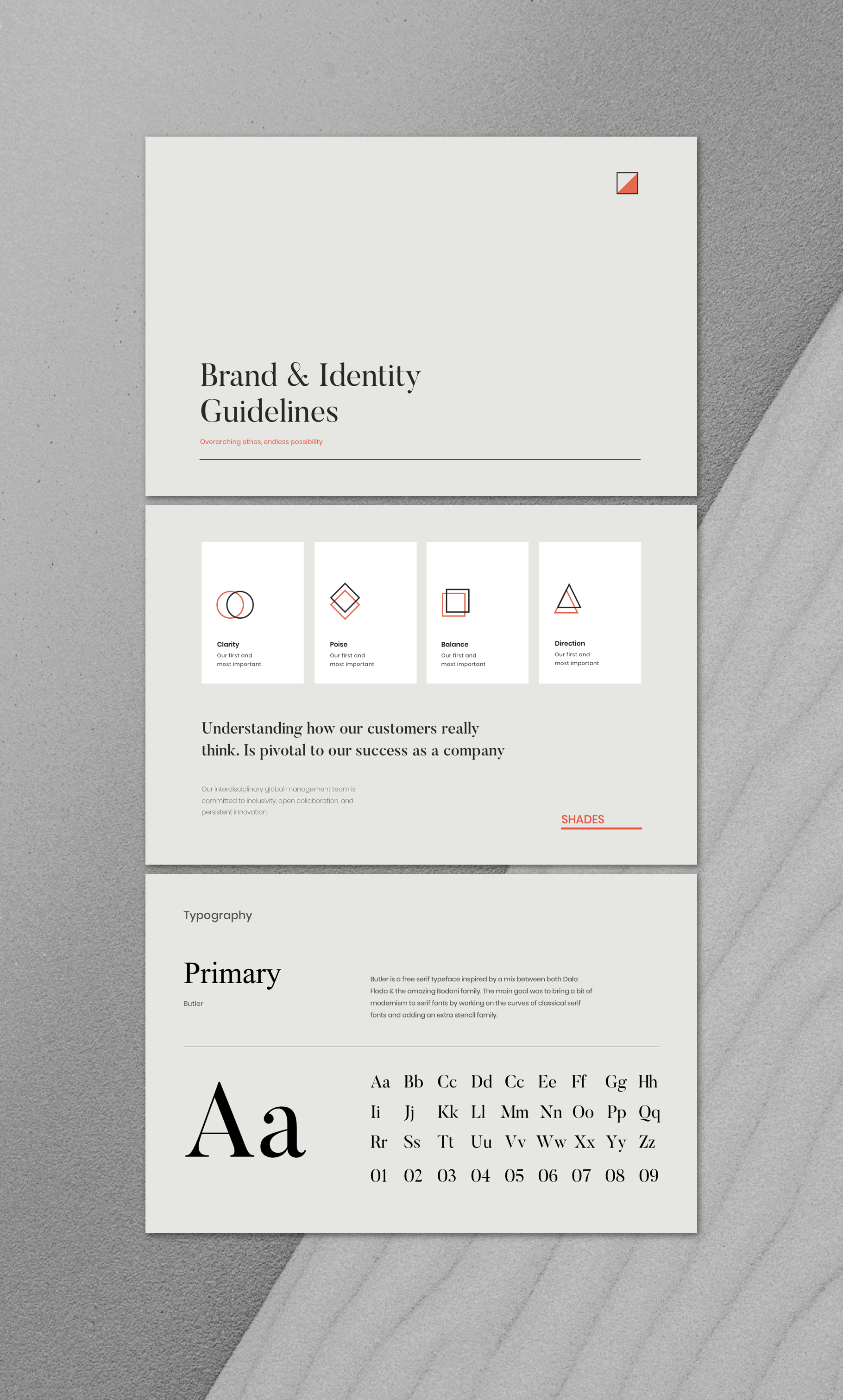 A branding guidelines template  Buy now    Manual, Template, Brand book, Book, Minimal, Identity, Mockup, Presentation, Identity mockup, Identity design, Sketch,
