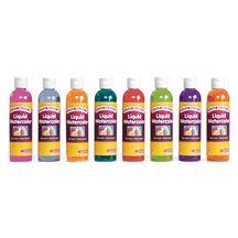 Colorations Tropical Colors Liquid Watercolor Paint 8 Oz Set