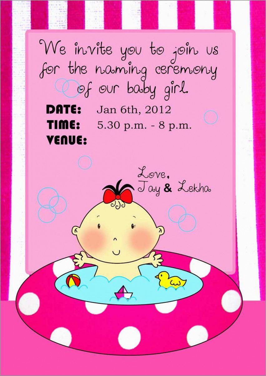 Free Name Ceremony Invitation Card In Marathi Naming Ceremony Invitation Invitation Card Maker Naming Ceremony