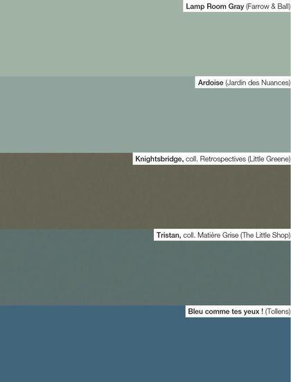 Peinture nos 65 couleurs pr f r es pour votre d co for Little green peinture nuancier