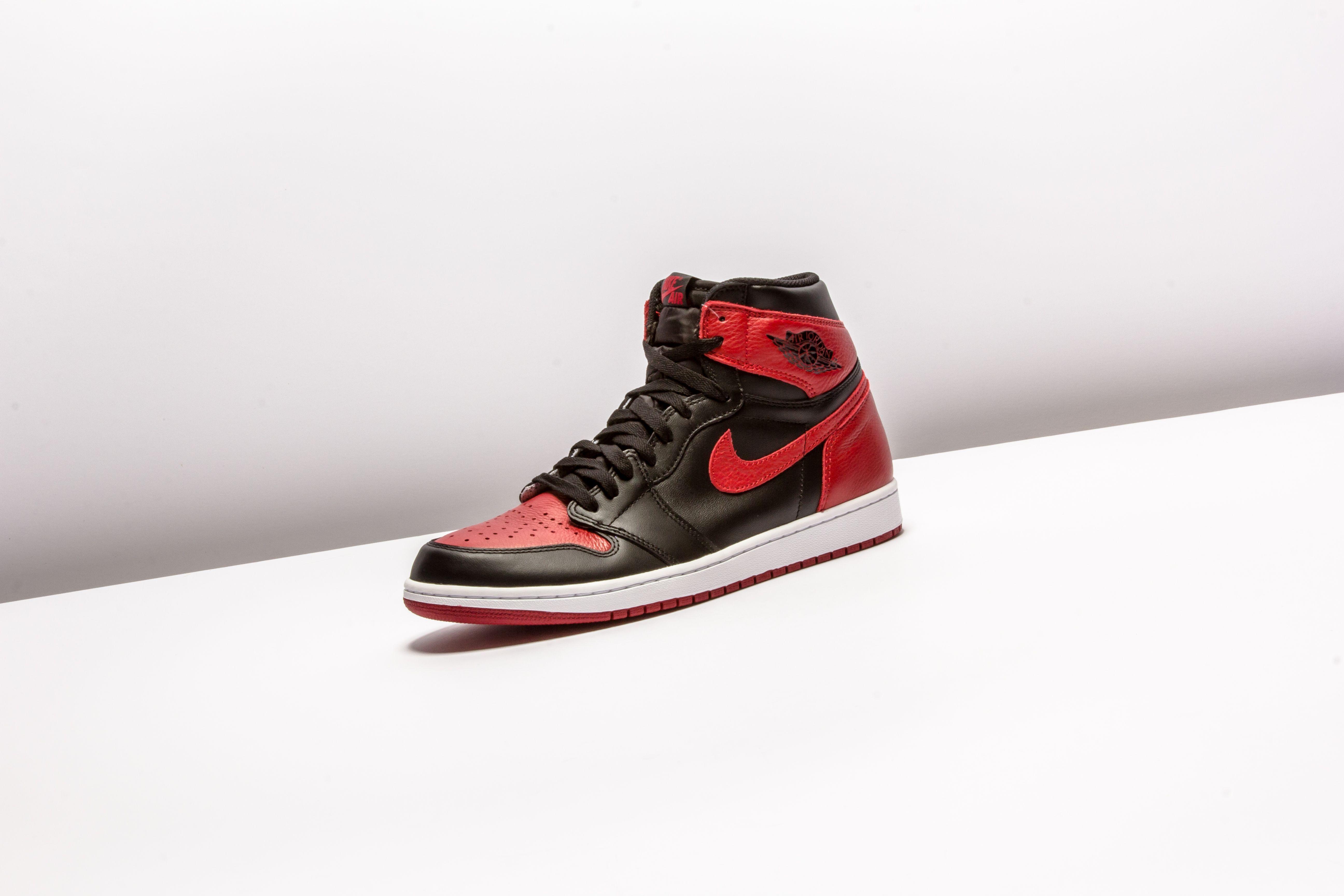 Air Jordan 1 Og Bred Toe Aj1 555088 610 With Images Sneakers