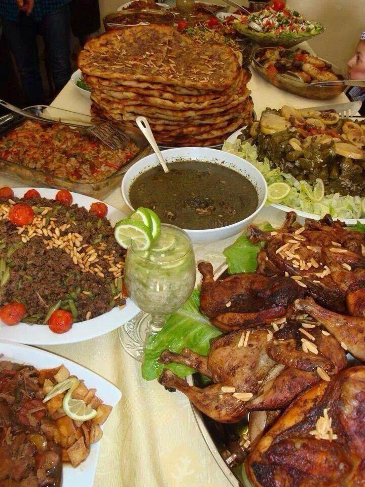 اكل فلسطيني Egyptian Food Palestinian Food Food Presentation