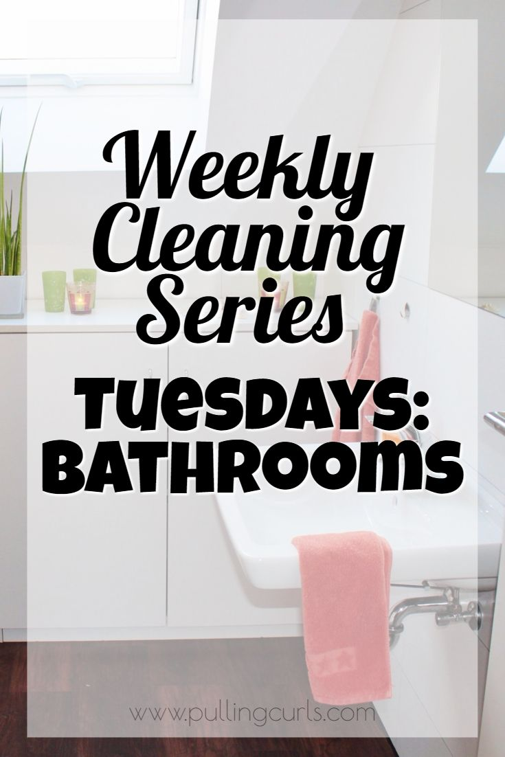 Weekly Cleaning: Tuesdays Clean the Bathroom   Toilet tiles, Weekly ...