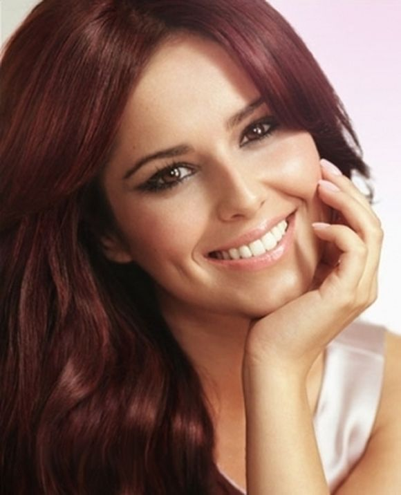 Mahogany Red Hair Cheryl Cole Red Hair Style My Style