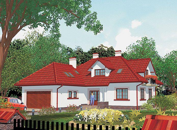 Projekt domu APS 121
