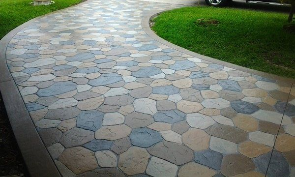 Concrete Driveway Design Ideas watch this before you build a concrete driveway design and construction tips youtube Stamped Concrete Driveway House Exterior Design Ideas Concrete Stamps