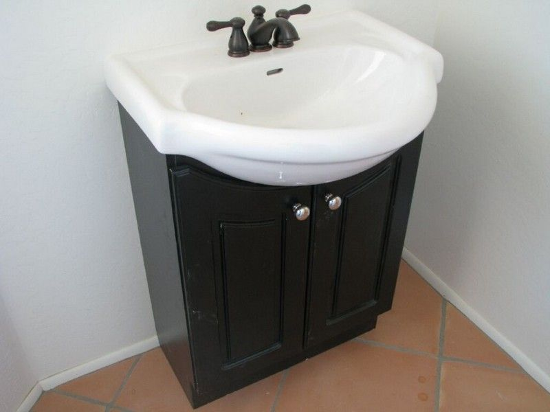 Nice Bathroom Pedestal Sink Storage Cabinet