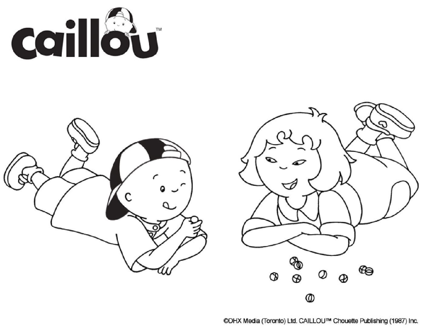 Caillou Coloring Sheet Fun Games Caillou Coloring Pictures Coloring Books