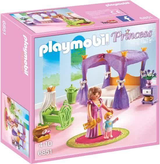 PLAYMOBIL Koninklijke slaapkamer met hemelbed - 6851 | Cadeaus ...