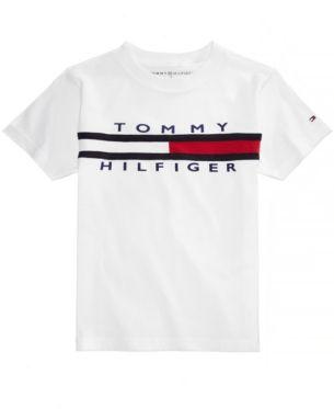 9c93354eaec96 Tommy Hilfiger Graphic-Print Cotton T-Shirt