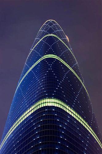 Guangzhou International Finance Centre, China. Wilkinson Eyre Architects.