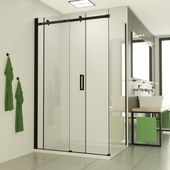Saniclear Supreme shower cubicle 110x90cm double sided Anti …