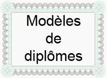 Exemple De Diplome A Imprimer Gratuit Modele Diplome