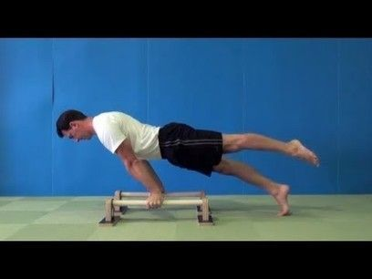 parallettes exercises for straight arm strength  fitness