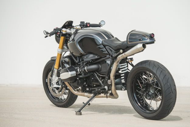Reality Check A Tweaked Bmw R Ninet From Analog Custom Bmw Bmw