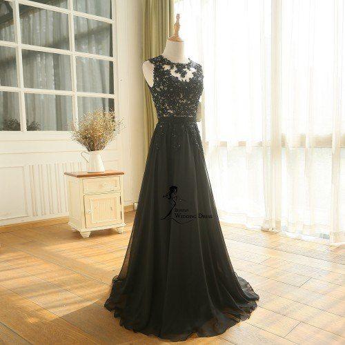 19db4ae8494 Tienda Online BEPEITHY nueva llegada vestido De velada una línea Vestido  largo De gasa De noche