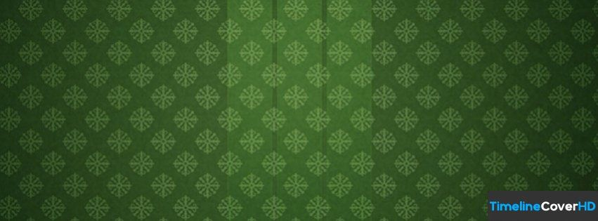 Green Circle Floral Pattern Facebook Cover Timeline Banner For Fb Facebook Cover