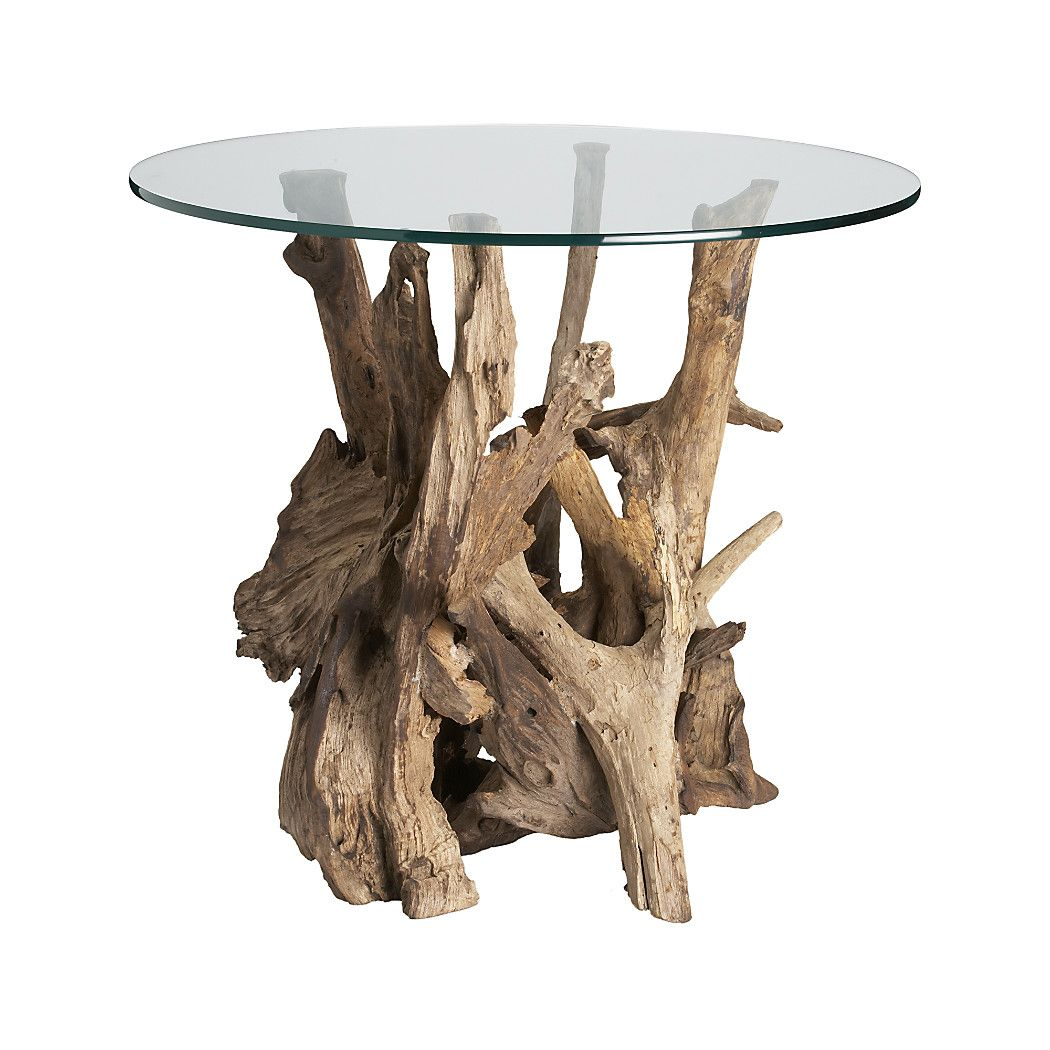 Shop Driftwood Round Side Table Collected Along The Shores Of Indonesia Unfinished Driftwood Form Driftwood Coffee Table Driftwood Table Driftwood Projects [ 1050 x 1050 Pixel ]