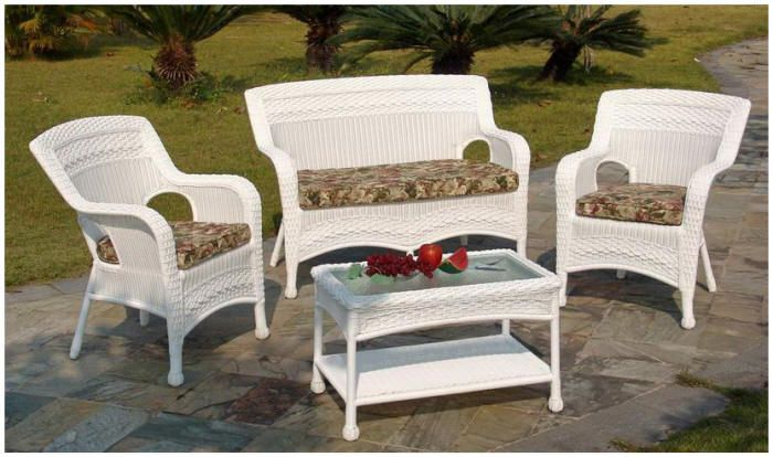 Casual Decor By Kaven Fred S Ensemble Pinterest Wicker Patio