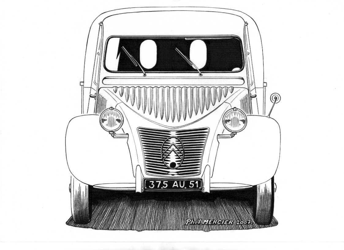 Pin Van Am Op Coloriages Citroen Kleurplaatjes Auto Tekeningen Auto