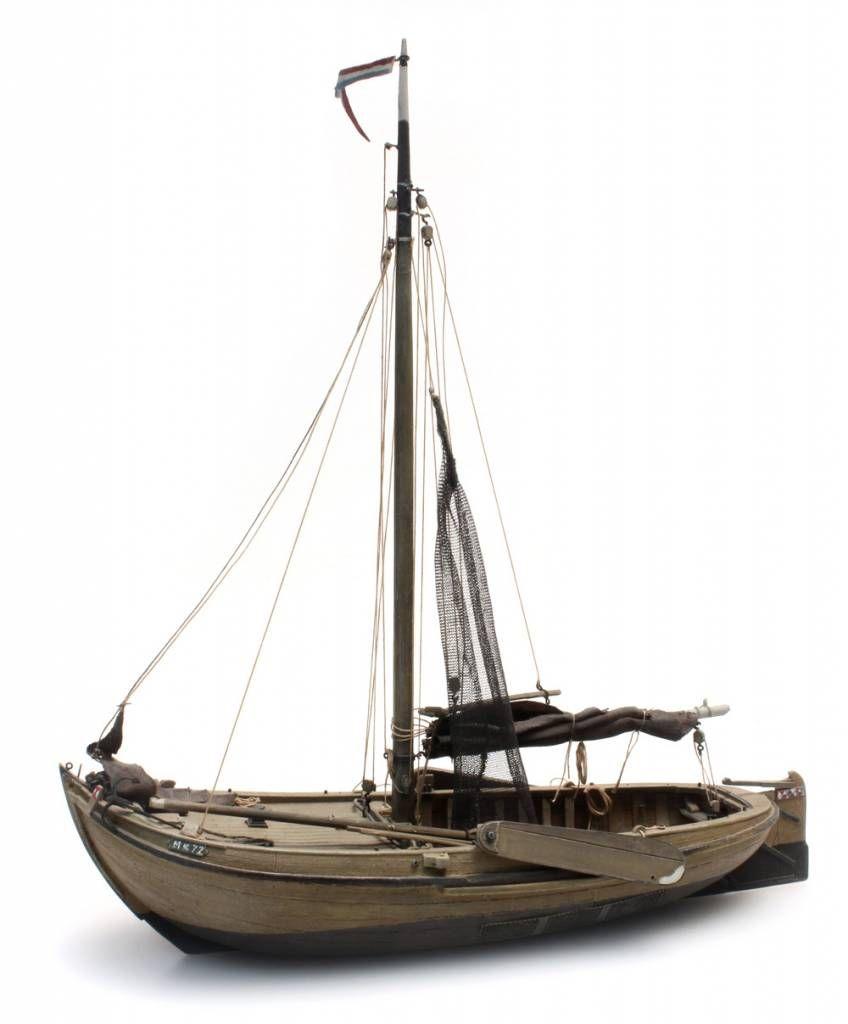 Artitec Ships Traditional Zuiderzee Fishing Boat H0 Kit 1 87 Boat Fishing Boats Boat Resin