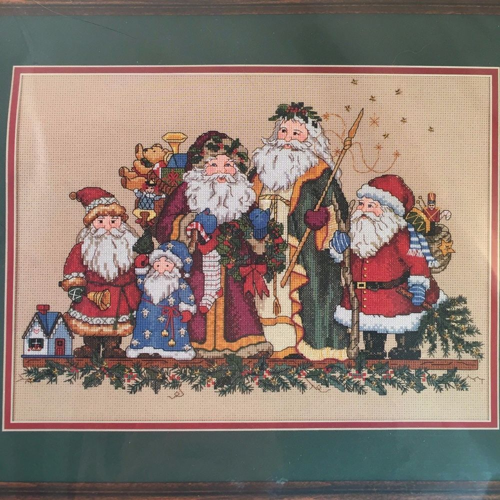 Dimensions Cross Stitch Kit 8572 Santa Quintet Father Christmas