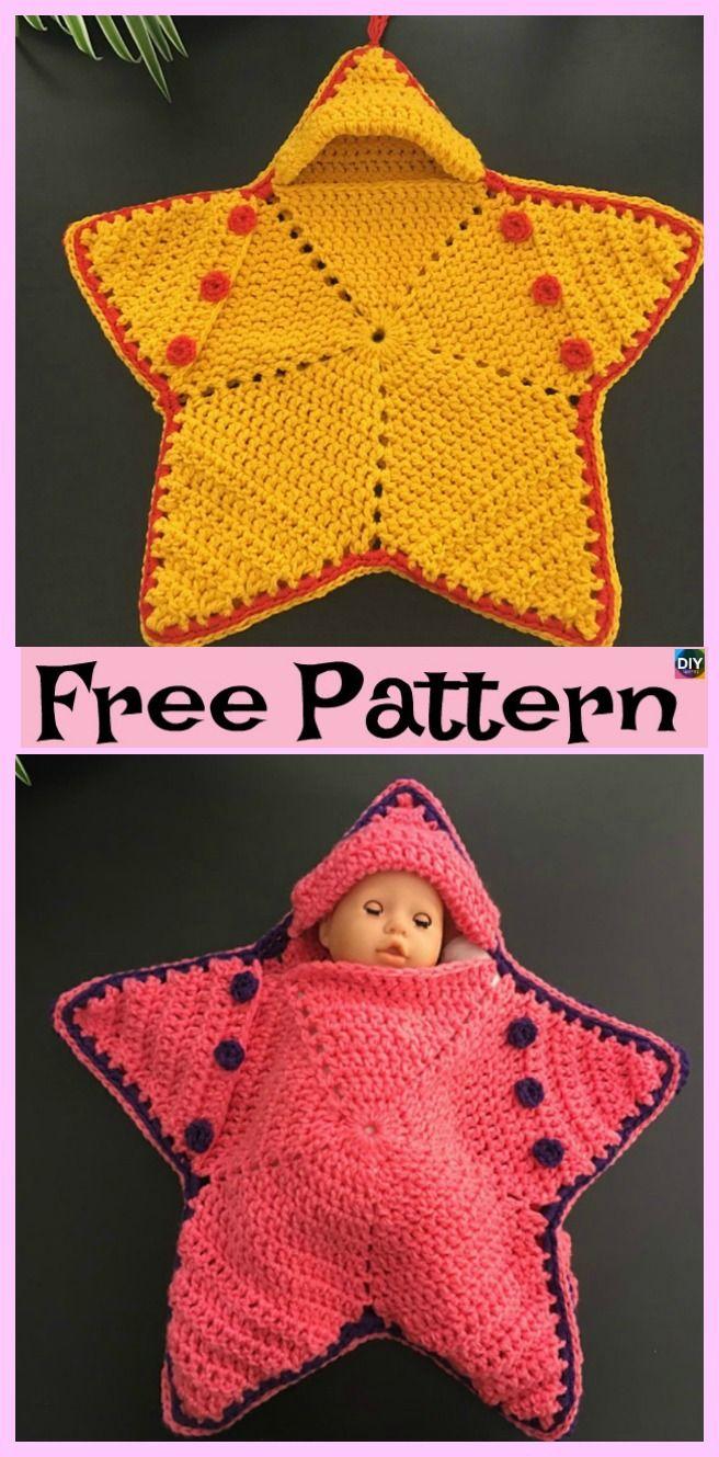 Cute Crochet Baby Star Bunting Free Pattern Crochet Knit