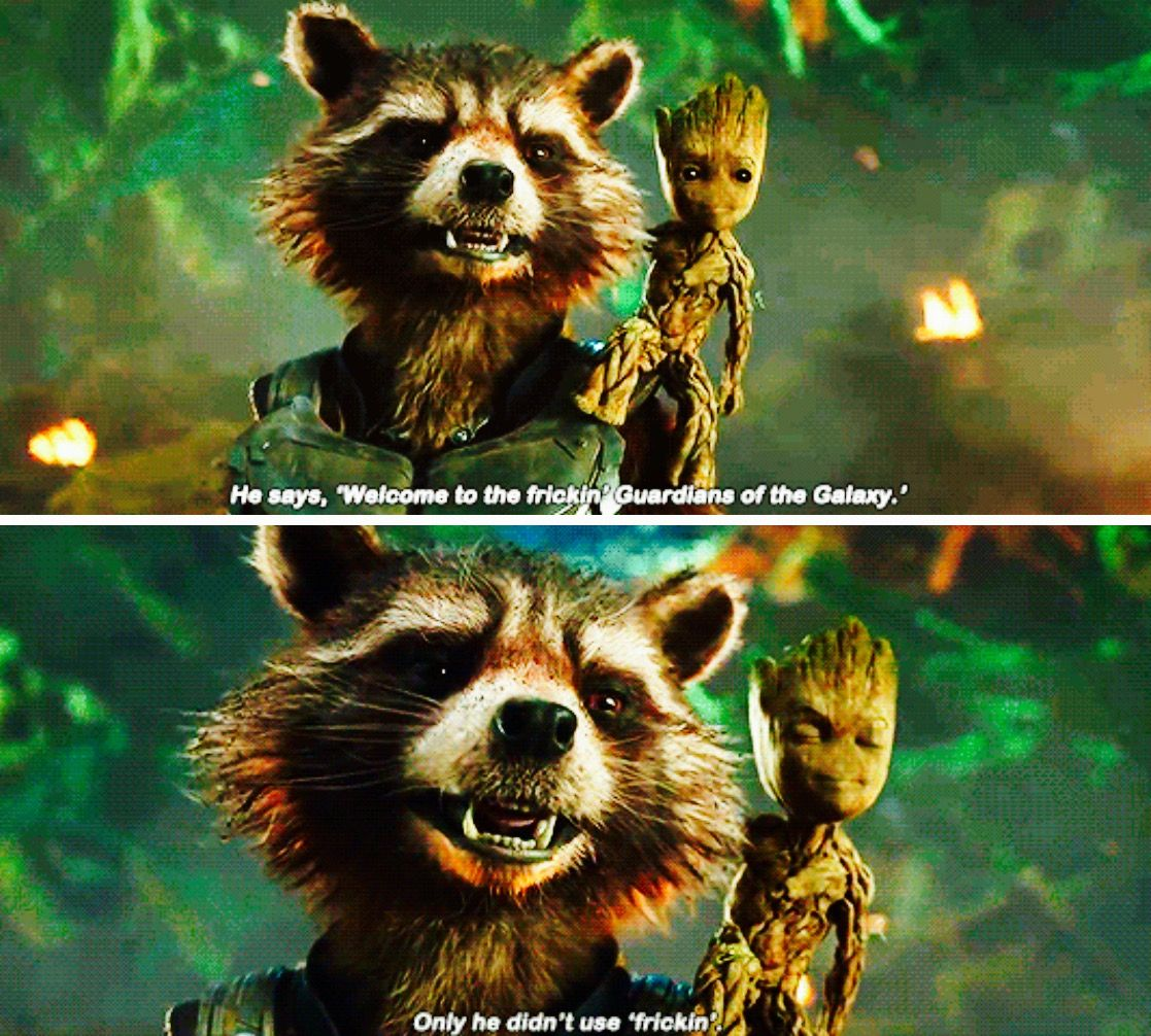 Baby Groot looks so proud of himself! Lol! Guardians Of The Galaxy Vol. 2