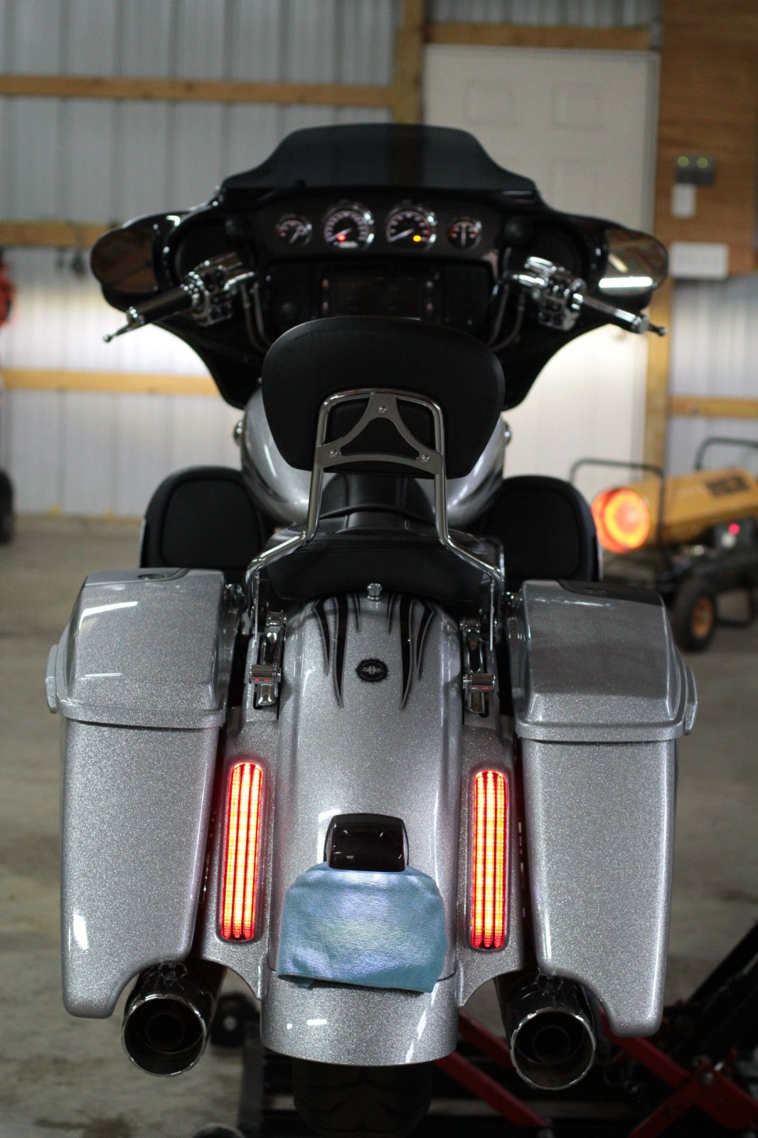 2015 Harley Davidson CVO Street Glide Hard Candy Mercury ...