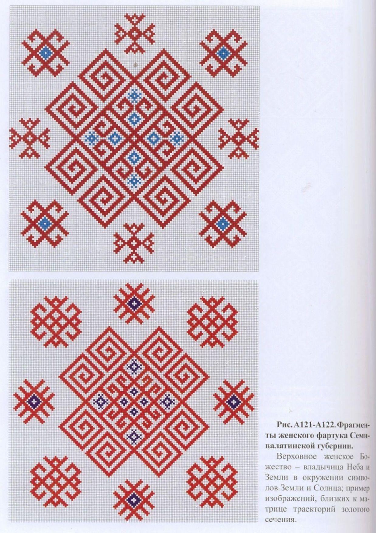 велесовик схема вышивки