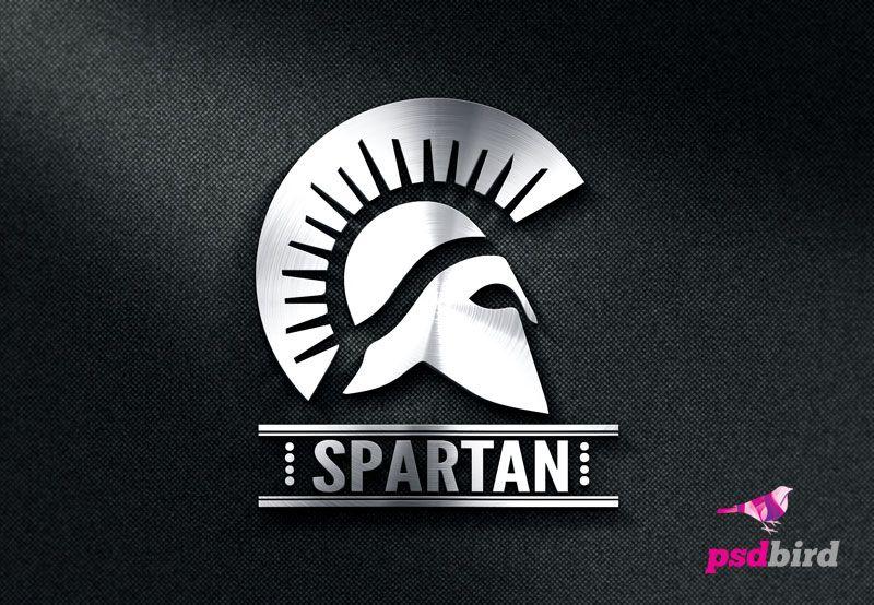 Free Spartan Logo Template Psd Psd Bird Web Graphic Design Blog Logo Design Free Templates Spartan Logo Logo Templates