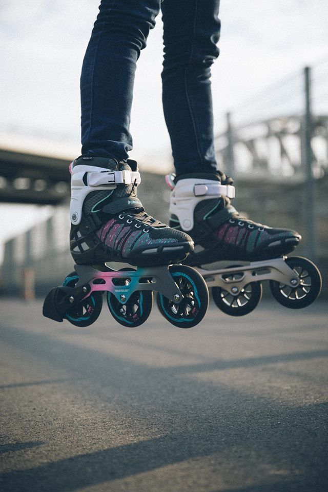 When Less Is More Way More Powerslide Bionic Fitness Skate Powerslide Welovetoskate Be Freewith Three T Inline Skating Rollerblading Roller Skate Shoes