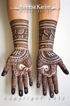 bharwa simple mehndi design