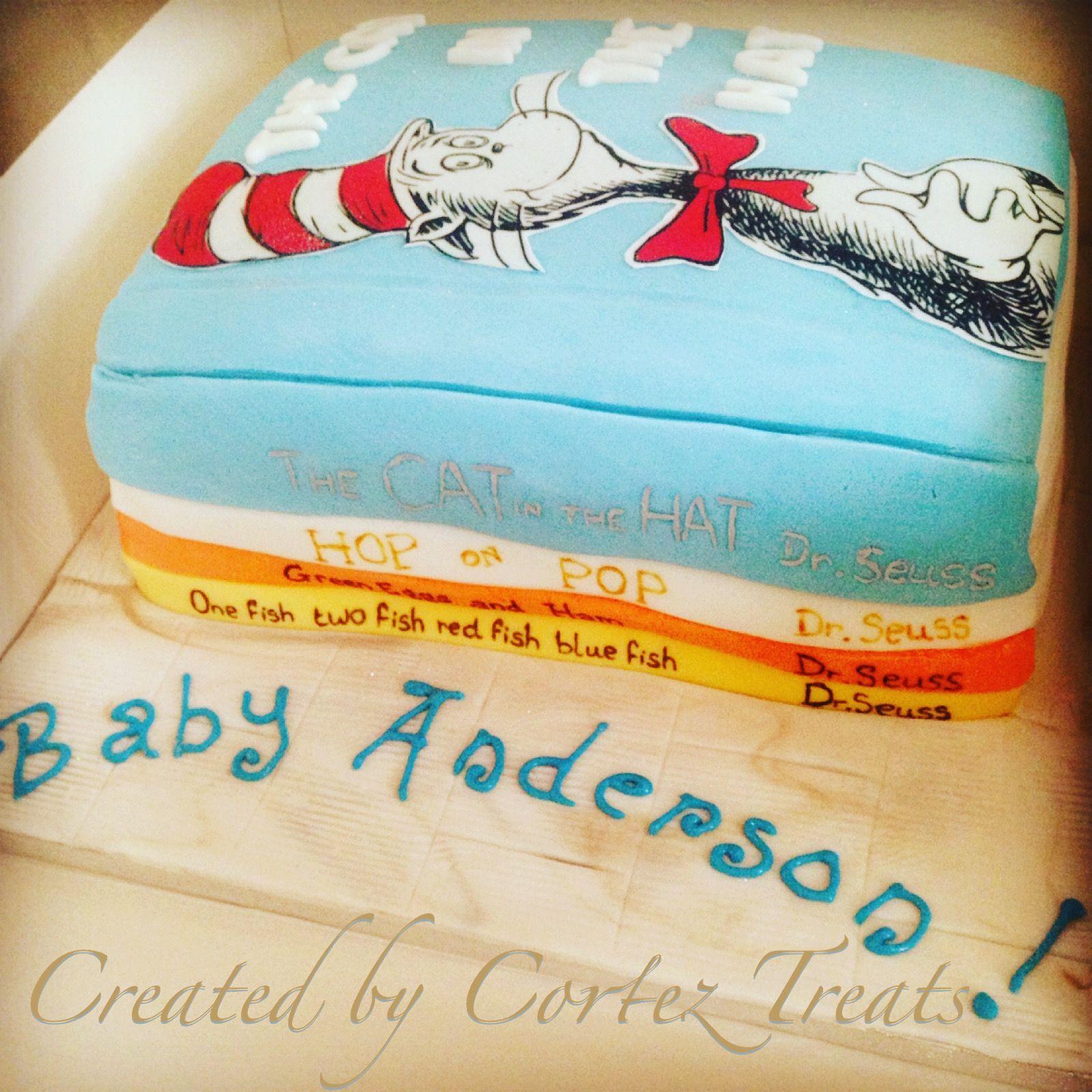 Cake · Dr Seuss Baby Shower ...