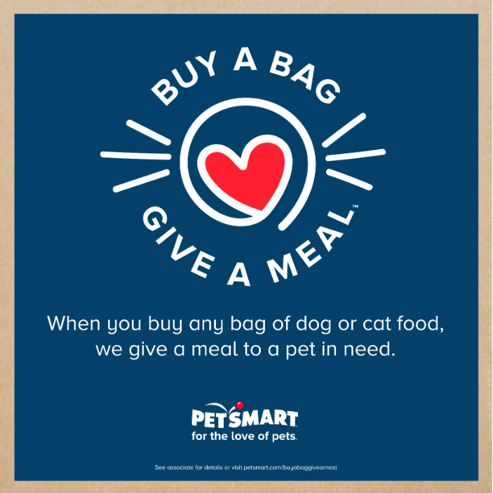 Buy A Bag Give A Meal With Petsmart With Images Petsmart Cute Dog Collars Pets