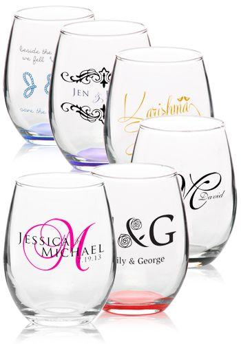 9 Oz Arc Perfection Stemless Wine Glasses C8832 Imom Craft