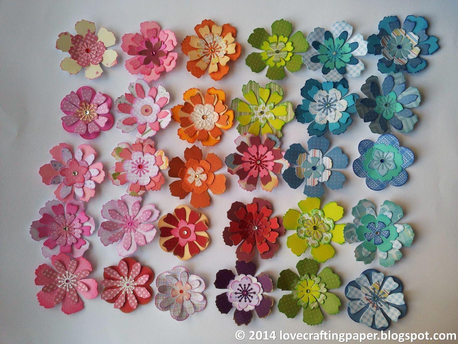 lovecraftingpaper: Flower power 3