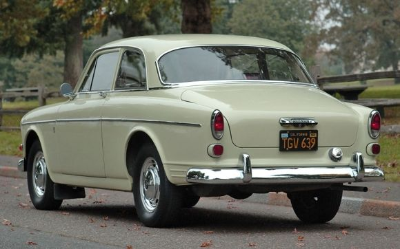 Volvo 122S -- my first car. But mine was a faded red. I was 2 years