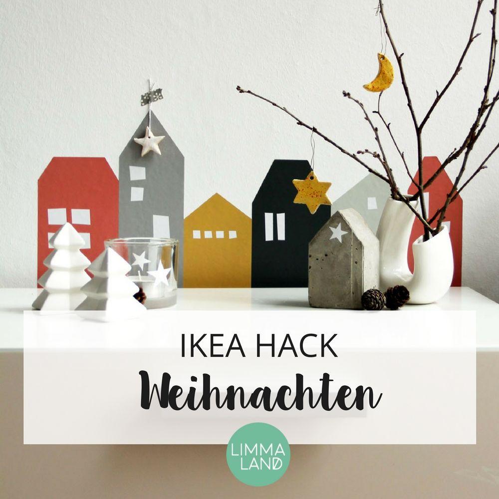 ikea hacks gibt es auch in der weihnachtszeit hier findet ihr tolle weihnachtsdeko mit vielen. Black Bedroom Furniture Sets. Home Design Ideas