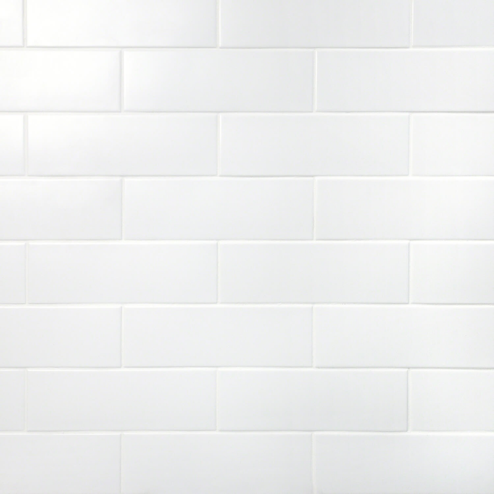 London White 3x9 Ceramic Subway Tile For Walls In 2020 Ceramic Subway Tile Ceramic Wall Tiles Ivy Hill Tile
