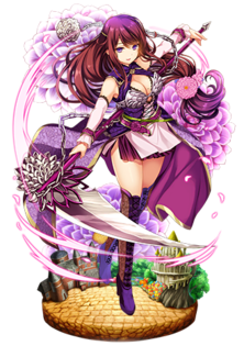 Pin On Flower Knight Girl