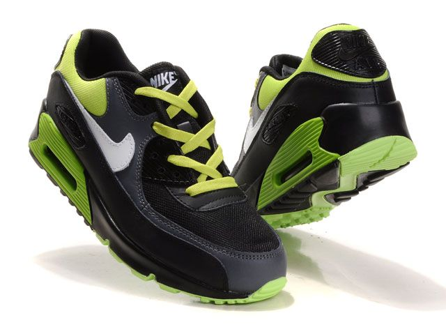 nike air max zwart groen
