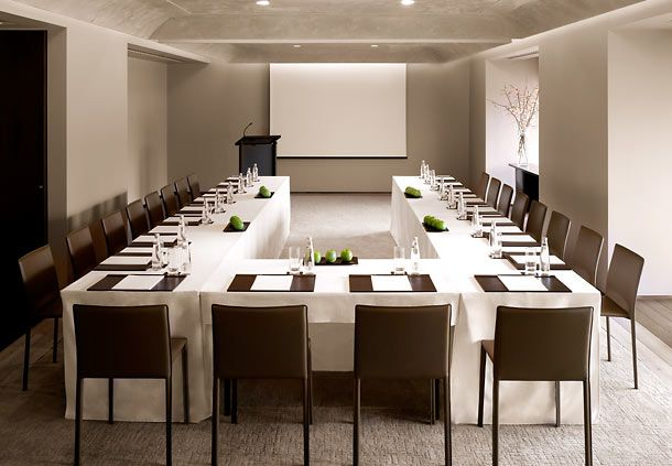 Contemporary Minimal Chic Corporate Meeting Room Istanbul