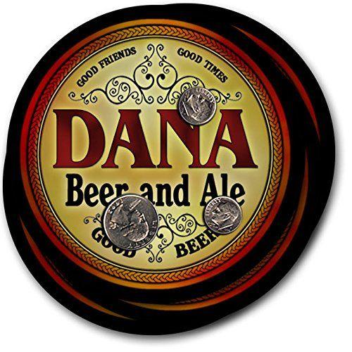 Dana Beer & Ale - 4 pack Drink Coasters ZuWEE…